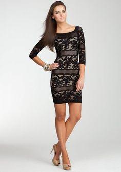 bebe Off Shoulder Lace Stripe Dress -Web Exclusive Tubular Black/nude-p/s bebe,http://www.amazon.com/dp/B009DMEG06/ref=cm_sw_r_pi_dp_jS7Rqb1BSEE3SCYQ