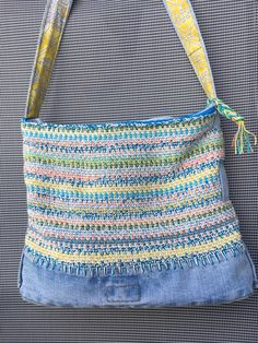 Jeans, Drawstring Backpack, Apron, Backpacks, Diy, Fashion, Breien, Dime Bags, Moda
