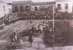 Plaza de España de Fuenlabrada hace 80 años