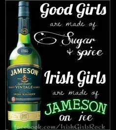Love me some Jameson.