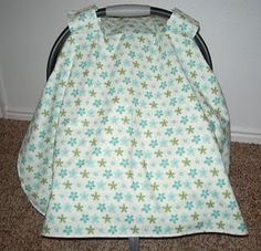 carseat canopy... wish I had this from the beginning.