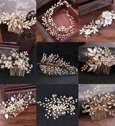 Style Gold Color Crystal Simulated Pearl Hair Comb For Wedding Hair Accessories Handmade Bride Hair Jewelry Headpiece Tiara.Many Style Gold Color Crystal Simulated Pearl Hair Comb For Wedding Hair Accessories Handmade Bride Hair Jewelry Headpiece Tiara. Hair Accessories For Women, Wedding Hair Accessories, Men's Accessories, Handmade Hair Accessories, Bride Hairstyles, Headband Hairstyles, Hair Scarf Styles, Headpiece Jewelry, Hair Comb Wedding