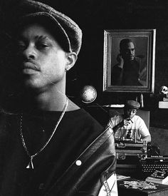 guru ( x dj premier = gangstarr Hip Hop And R&b, Love N Hip Hop, 90s Hip Hop, Arte Hip Hop, Hip Hop Art, Radios, Hiphop, East Coast Hip Hop, History Of Hip Hop