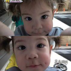 Morning selfies 💗💕 . . . #gunhoo #naeun #parkgeonhoo #parkgunhoo #aciel #eden #parknaeun #박주호 #박나은 #건후 #박건후 #아시엘 #acielpark… Superman Kids, Ulzzang Kids, Reaction Pictures, Baby Fever, Pretty Boys, Cute Babies, Park, Puppies, Bebe