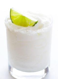 This coconut margarita recipe is refreshing and sweet.