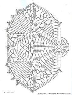 Tecendo Artes em Crochet: Três Toalhinhas Tulipas Para Vocês!