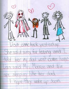 Some take imaginative play a step farther and create an Imaginary Friend. Scary Kid Drawings, Backpack Drawing, Scary Kids, Creepy Facts, Scary Stories, Imaginative Play, Drawing For Kids, Pictures To Draw, Creepypasta