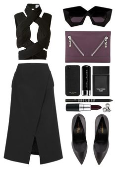/// by mimiih on Polyvore featuring Dion Lee, Josh Goot, Yves Saint Laurent, Kenzo, House of Holland, rag & bone, MAC Cosmetics, Lord & Berry, Tom Ford and Marc Jacobs
