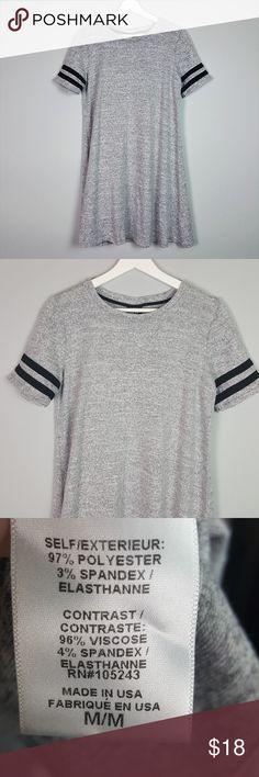 Bobeau T-Shirt Grey  Dress Size M Bobeau T-Shirt Grey  Dress Size M bobeau Dresses Mini