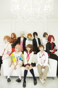 Brothers Conflict. Greatest in character cosplay ;)