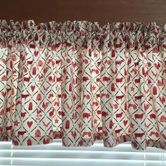 Farmers Market Kitchen Valance ~ 42 Inches Wide by CheriesSewCrafty on Etsy