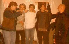 Atze backstage.