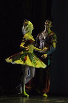 "Iana Salenko, Staatsballet Berlin, and Joseph Gatti, Boston Ballet, ""Pas d'Esclave"" from ""Le Corsaire"" at Dance Open Ballet Festival, April 28, 2014, Alexandrinsky Theatre, Saint Petersburg, Russia© Dance Open"