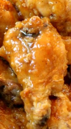 Honey Glazed Chicken Wings - Smith's Food and Drug Honey Glazed Chicken Wings Recipe, Honey Sauce For Chicken, Honey Wings, Cooking Chicken Wings, Chicken Wing Recipes, Fried Chicken, Bbq Chicken, Buffalo Chicken, Chicken Stuffed Peppers