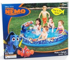 Finding Nemo Splash Pool