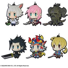 Final Fantasy XIV 3/'/' Krille Prize Trading Figure Anime Manga NEW