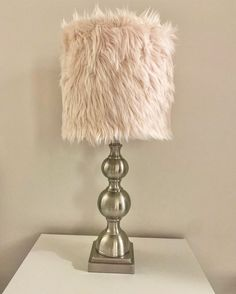 Excited to share this item from my #etsy shop: Soft pink faux fur lampshade Pink Lamp, Pink Faux Fur, Light Pink Color, Lamp Shades, Lamp Design, Rosettes, White Roses, Primary Colors, Floral Design