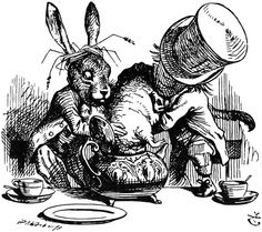 "John Tenniel illustration for ""Alice in Wonderland"" by Lewis Carroll"
