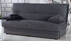 Grey Convertible Sofa
