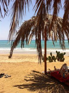 Noto Sicily S.Lorenzo Beach