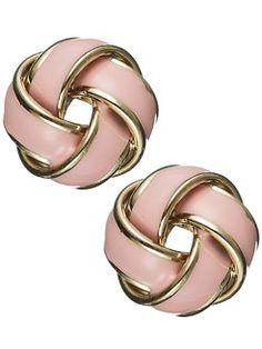 Knot Earrings.