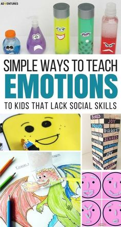 Super Fun Activities to Help Kids Recognize Big Emotions via @lemonlimeadv