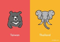 10 differences between Taiwan and Thailand