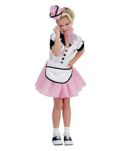 Soda Pop Girl Costume | Wholesale 50s Costumes for Girls