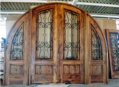 Custom Doors and rustic style custom wood doors - southwest, sante fe and mexican styles - Call: 602-277-7757 - La Casona is a custom wood furniture manufacturer located in Phoenix, Arizona. We design custom wood doors to match your architecture and decor. Visit one of our three valley showrooms.