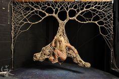 Model:  Heidi Z Rigger and photographer: Garth Knight