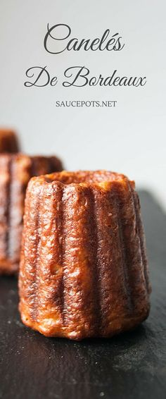 One of France's hidden gems - Canelés are a glorious sweet treat. Crispy…