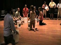 Orff Bucket routine with several teaching videos. Totally doing this with my kids for our stomp/found instruments/science of music unit. You can do a similar activity w/ the kids and found objects AND collaborate it with language arts.