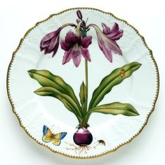Flowers of Yesterday Dinnerware by Anna Weatherley | Gracious Style