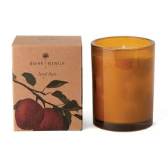 Botanica Glass Candle - Spicy Apple