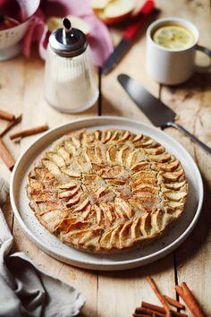 Gâteau aux pommes et sarrasin sans gluten sans lactose - chefNini Dessert Sans Lactose, Sans Gluten Sans Lactose, Apple Pie, Gluten Free, Food, Pie, Apple Cakes, Glutenfree, Apple Cobbler