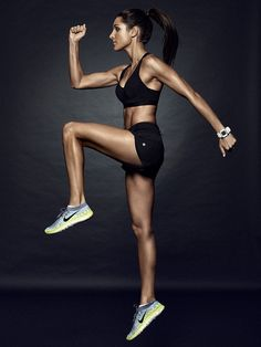 Apart from these simple fitness works you can also try out the Kayla Itsines workouts which promises to deliver quick results and aims to turn any kind of body figure into beach body.     http://www.bikinibodyguides.com/kayla-itsines-review/