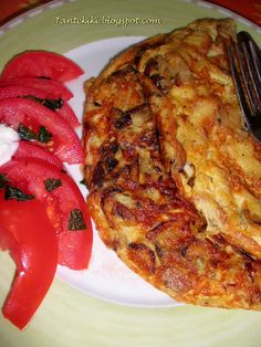 Tante Kiki: Μια ομελέτα ένα γεύμα... Cookbook Recipes, Cooking Recipes, French Toast, Eggs, Breakfast, Food, Morning Coffee, Eten, Egg