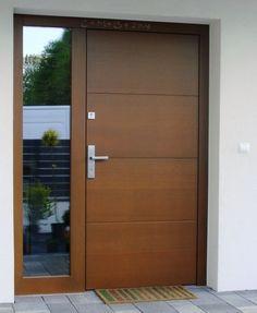 Drzwi zewnętrzne drewniane model K2. Producent drzwi www.doorlux.pl
