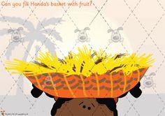 Teacher's Pet - Handa's Surprise Playdough Mats - Preschool Themes, Classroom Activities, Activities For Kids, Handas Surprise, Reception Class, African Theme, Teachers Pet, Play Based Learning, Primary Classroom