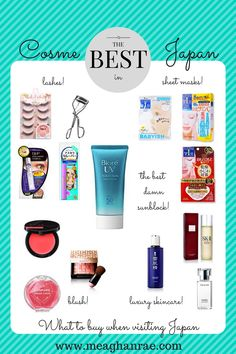 Amazon and eBay are well and good, but when you can actually shop for beauty items (or cosme shopping) IN Japan, what should you stock up on?