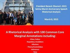 barack obama rhetorical analysis essay