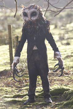 Halloween Party-gruselige Kostüme-Eule Mann