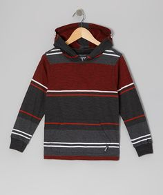 Look at this Micros Ketchup Stripe Hoodie - Toddler on #zulily today!