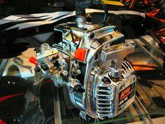 CHROME ENGINE COVER FOR CY SIKK ZENOAH FUELIE HPI BAJA