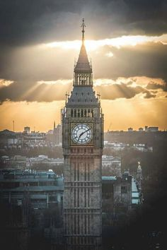 The Big Ben, London.- #LondonCity