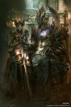 Master-CazCaz: sekigan:   ArtStation - Dark knight & Lord of...