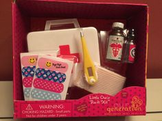 OUR-GENERATION-LITTLE-OWIE-FIX-IT-KIT-DOCTORS-BAG-SET-AMERICAN-GIRL-ANY-18-DOLL