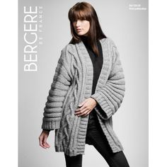 Long Jacket in Bergere de France Cocoon. Discover more Patterns by Bergere de France at LoveKnitting. We stock patterns, yarn, needles and books from all of your favorite brands.