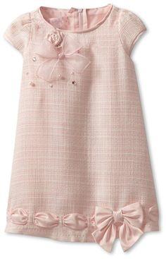 Biscotti Baby Girls' Ode To Chanel Dress, Pink, 24 Months