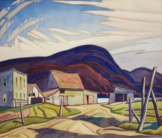 A.J. Casson - West Guildford 17 x 20 Watercolour on paper (1930) Watercolour, Paper, Painting, Art, Pen And Wash, Art Background, Watercolor Painting, Watercolor, Painting Art